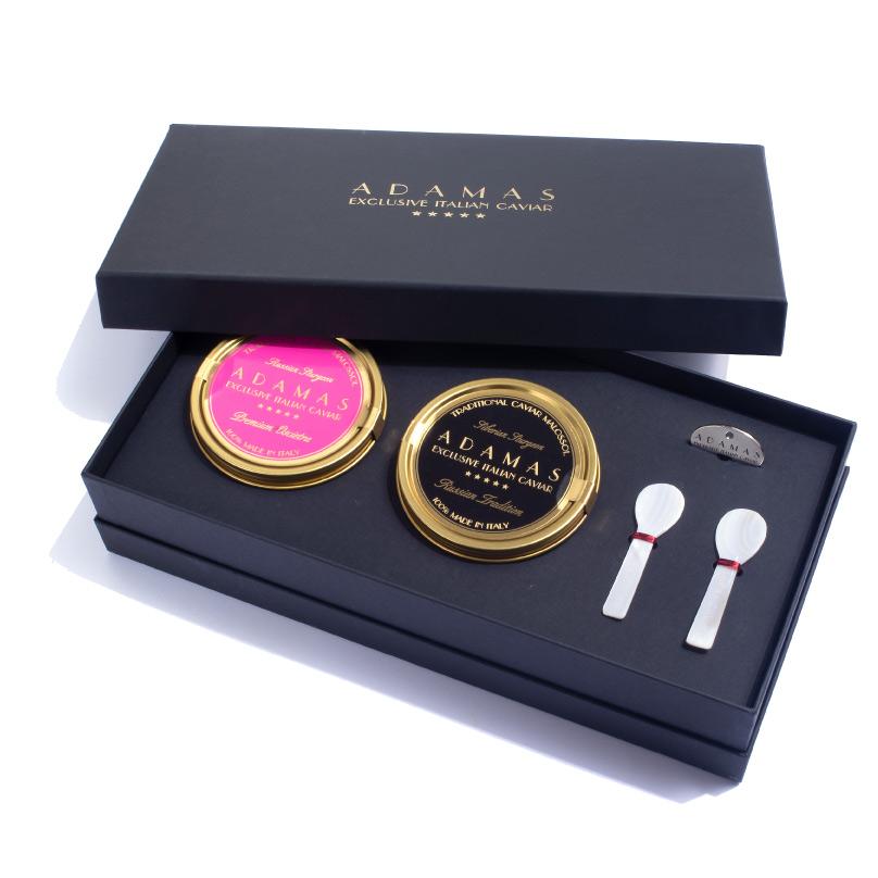 Gift box 2x100gr - Adamas Caviar