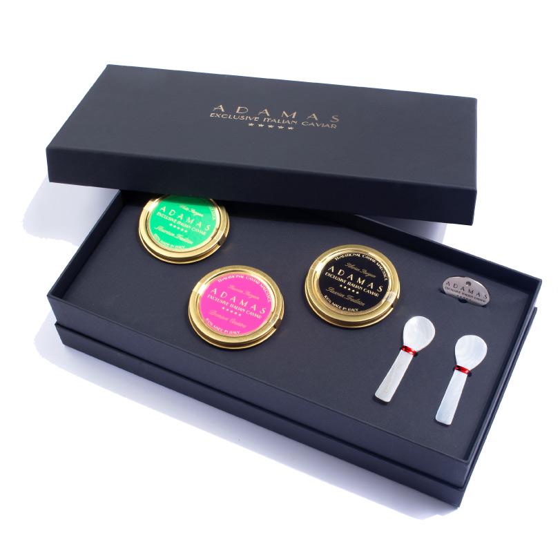 Gift box 3x50gr - Adamas Caviar