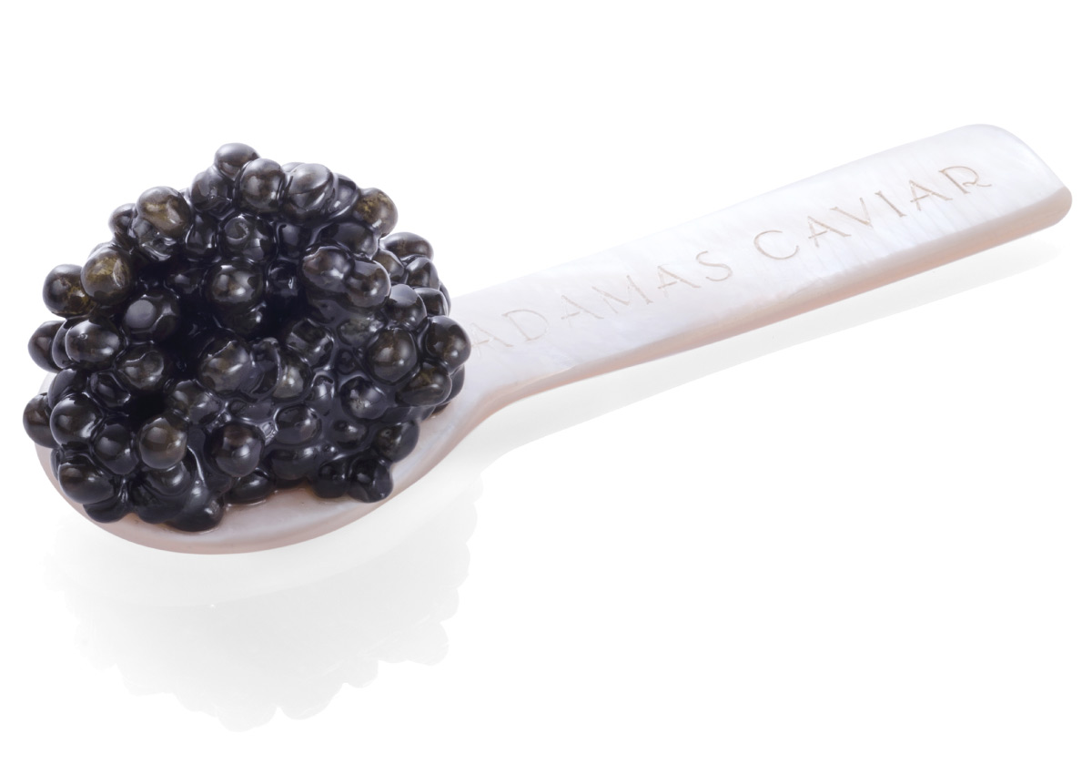 Adamas Caviar - The mother-of-pearl spoon