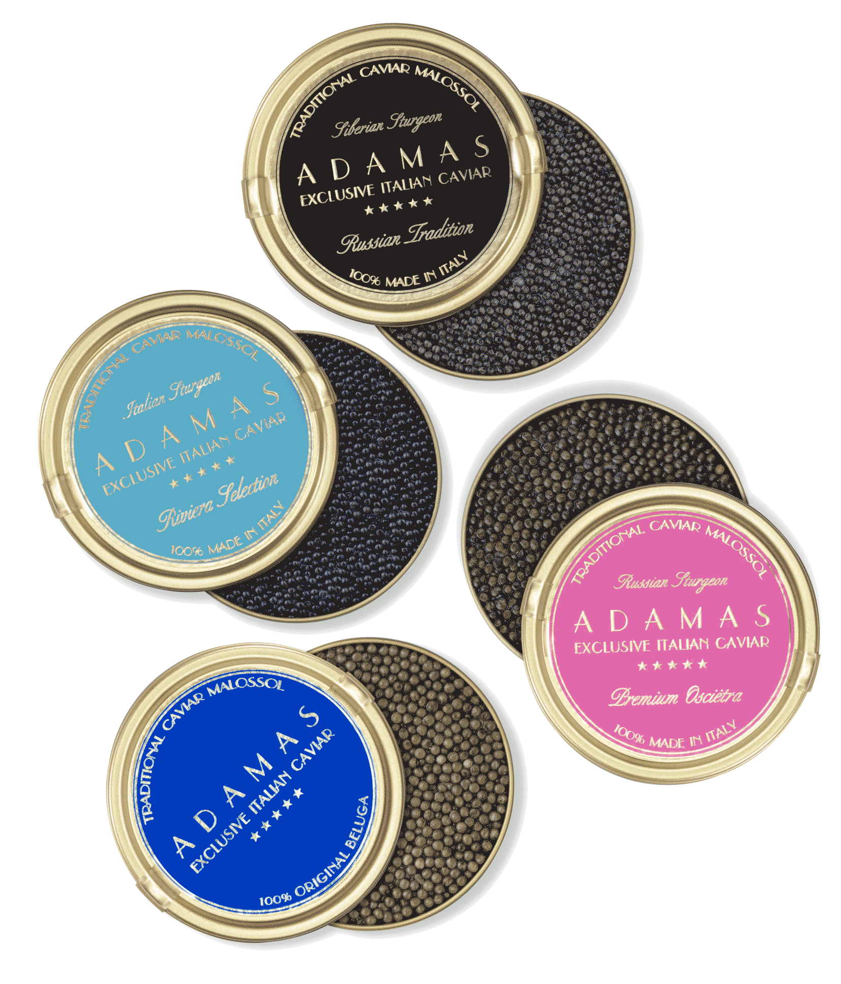 Adamas Caviar - Caviale premium