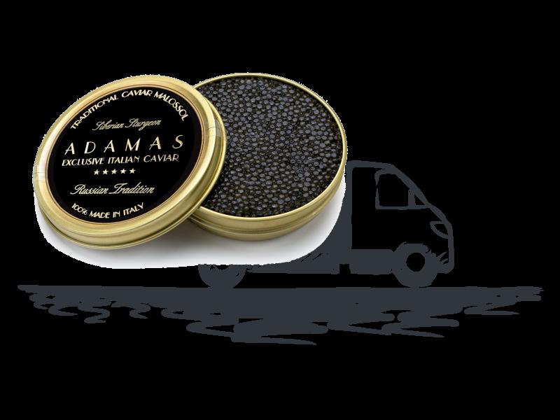 Adamas Caviar - Consegna rapida e freschissima