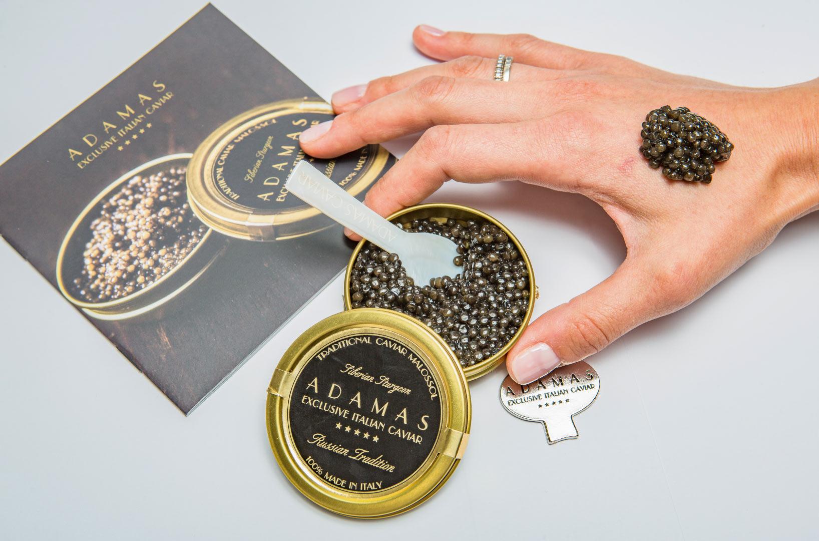 Tasting Caviar